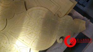 Декоративные потолочные элементы храма (г.Салехард)