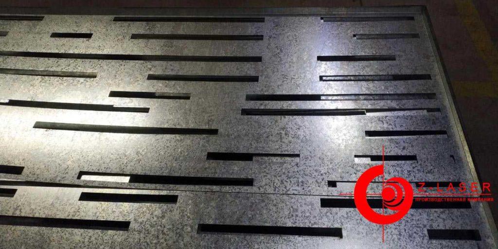 Компания «Z-Laser». Основание корзины для кондиционеров (нижнее оформление)