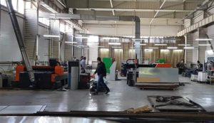 Производственные цеха компании Z-Laser